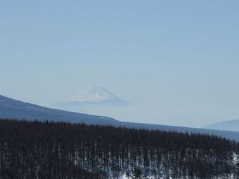 霧ヶ峰からの富士